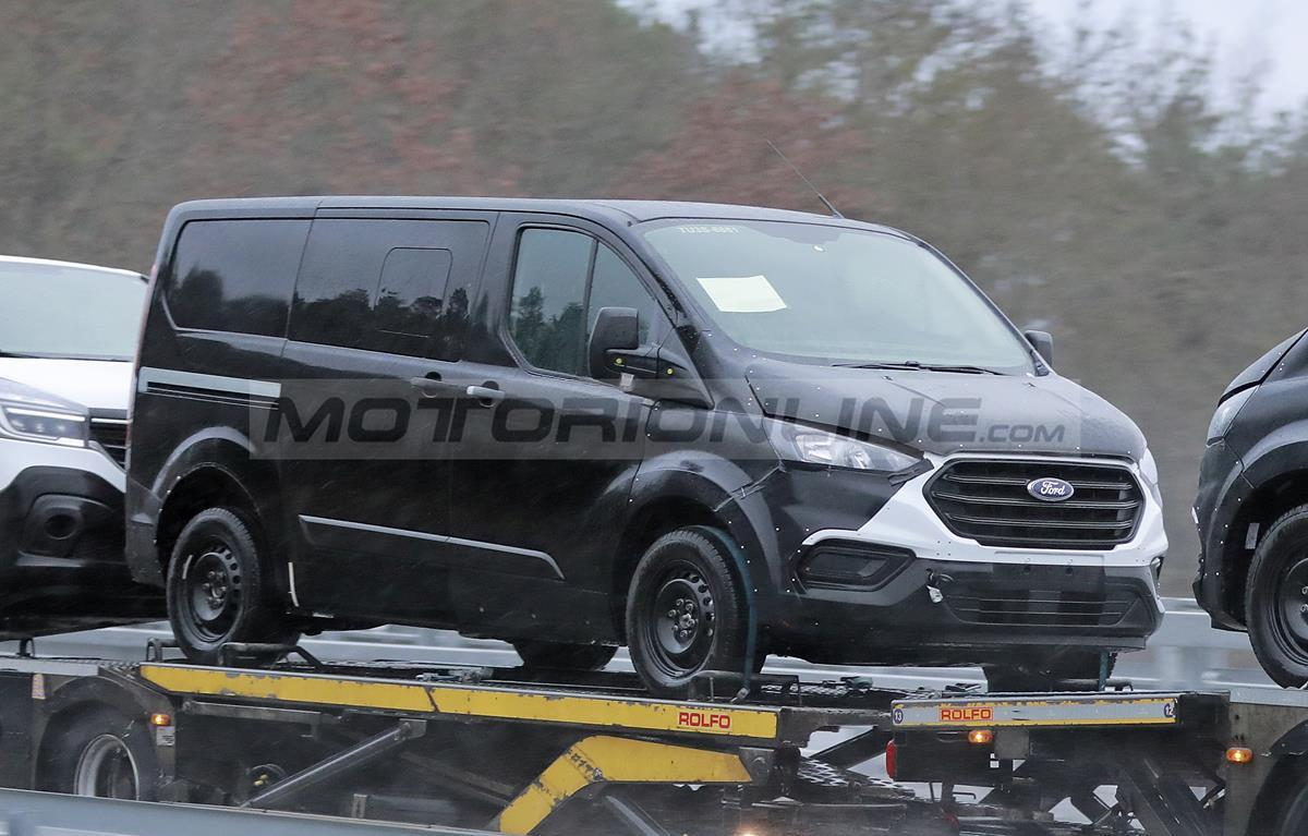 Ford Transit 2021 - Foto spia 26-01-2021