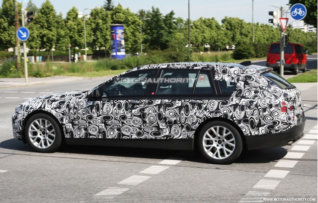 Foto spia BMW Serie-5 Touring