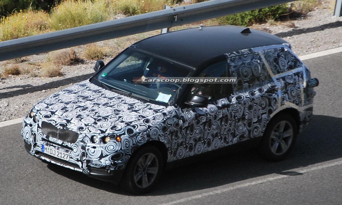 Foto spia BMW X3