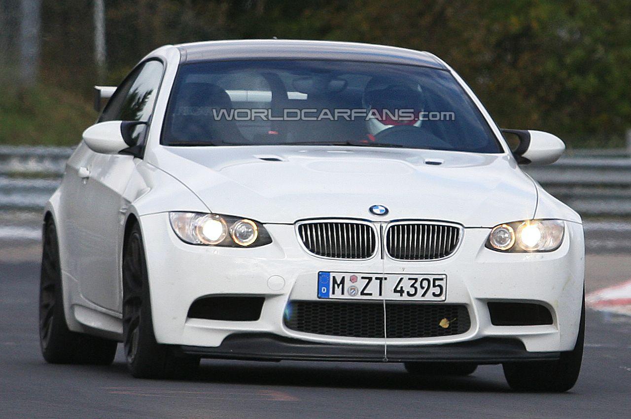 Foto spia della misteriosa BMW M3