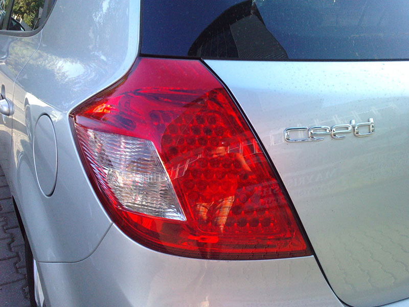 Foto spia della nuova Kia Cee\'d 2010