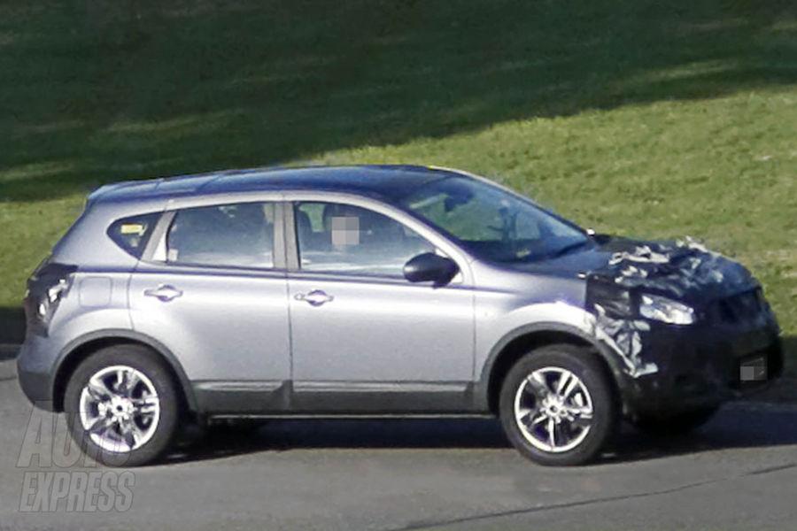 Foto spia facelift Nissan Qashqai