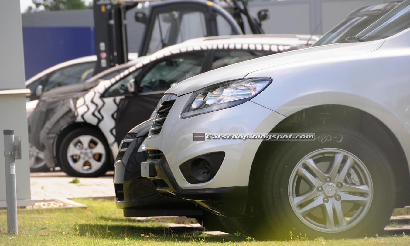 Foto spia Hyundai Santa Fe 2010