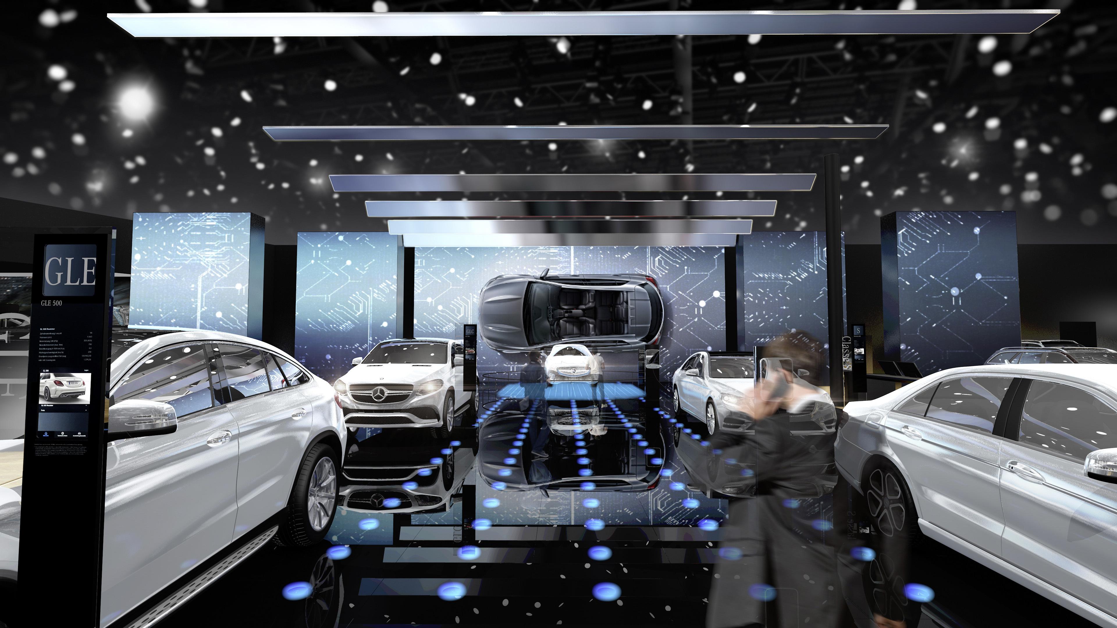Foto stampa 28 settembre 2016 Mercedes e Smart al Salone di Parigi 2016