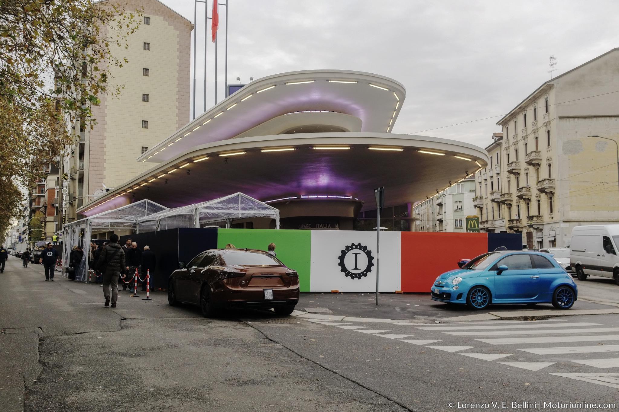 Garage Italia Customs Inaugurazione Sede Piazzale