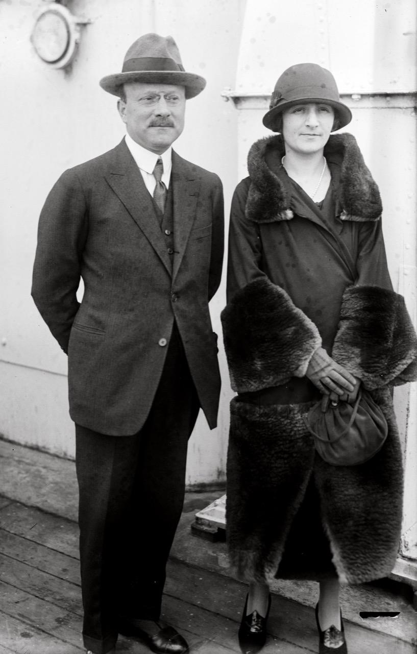 Giorgina Bingen e Andre Citroen