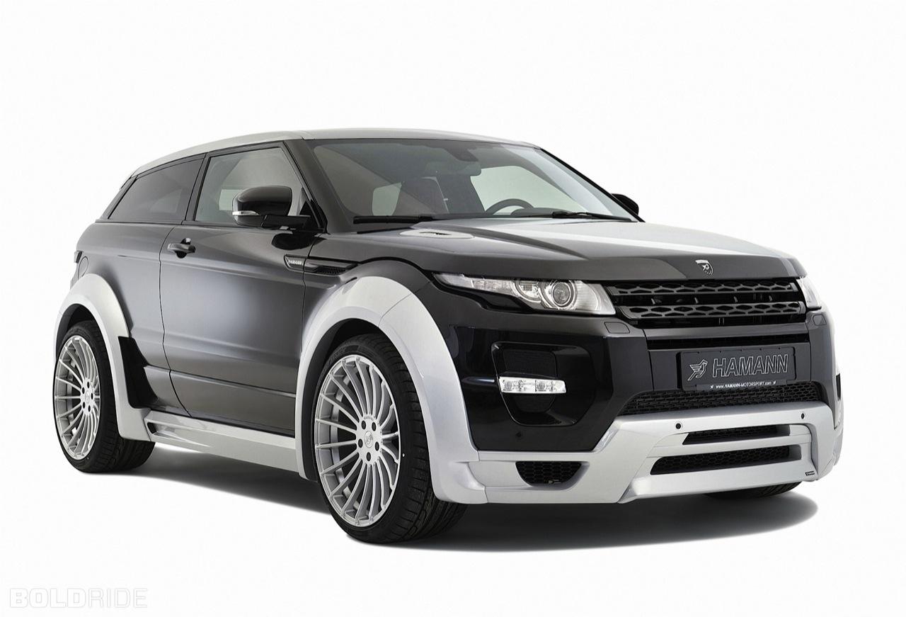 Hamann Range Rover Evoque - Salone di Ginevra 2012