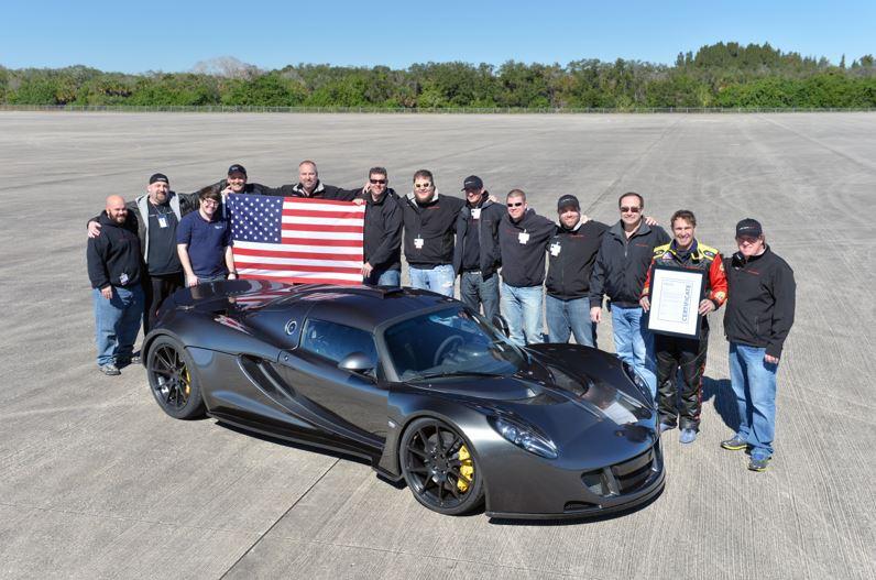 Hennessey Venom GT - Record del mondo di velocità