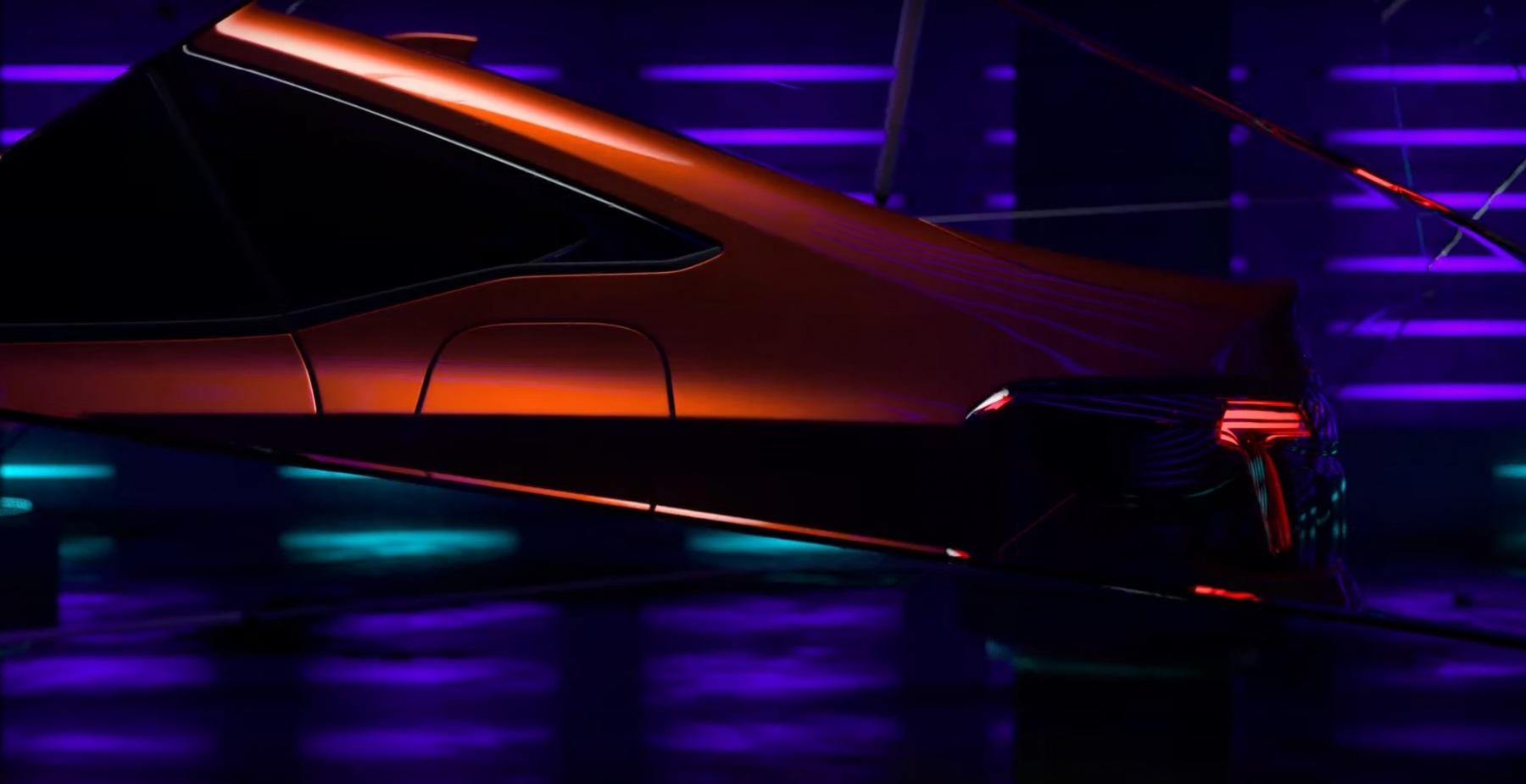 Honda Civic 2022 - Prototipo - Teaser