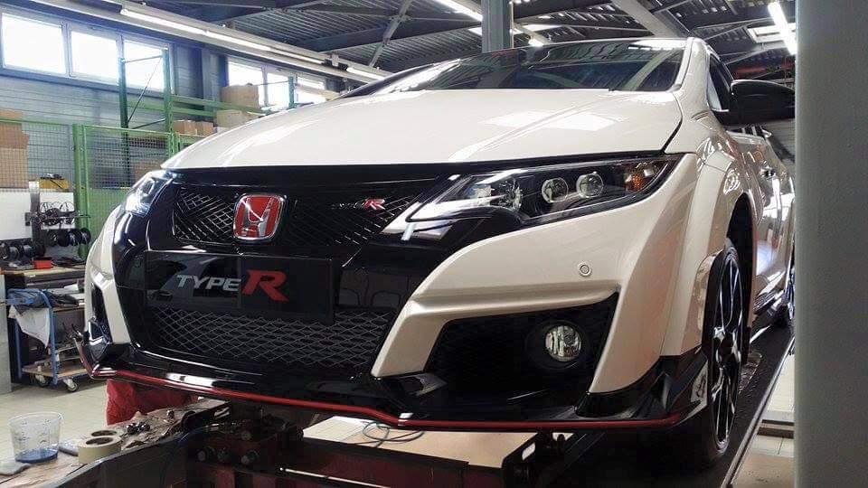 Honda Civic Type R 2015 - Foto spia 02-03-2015