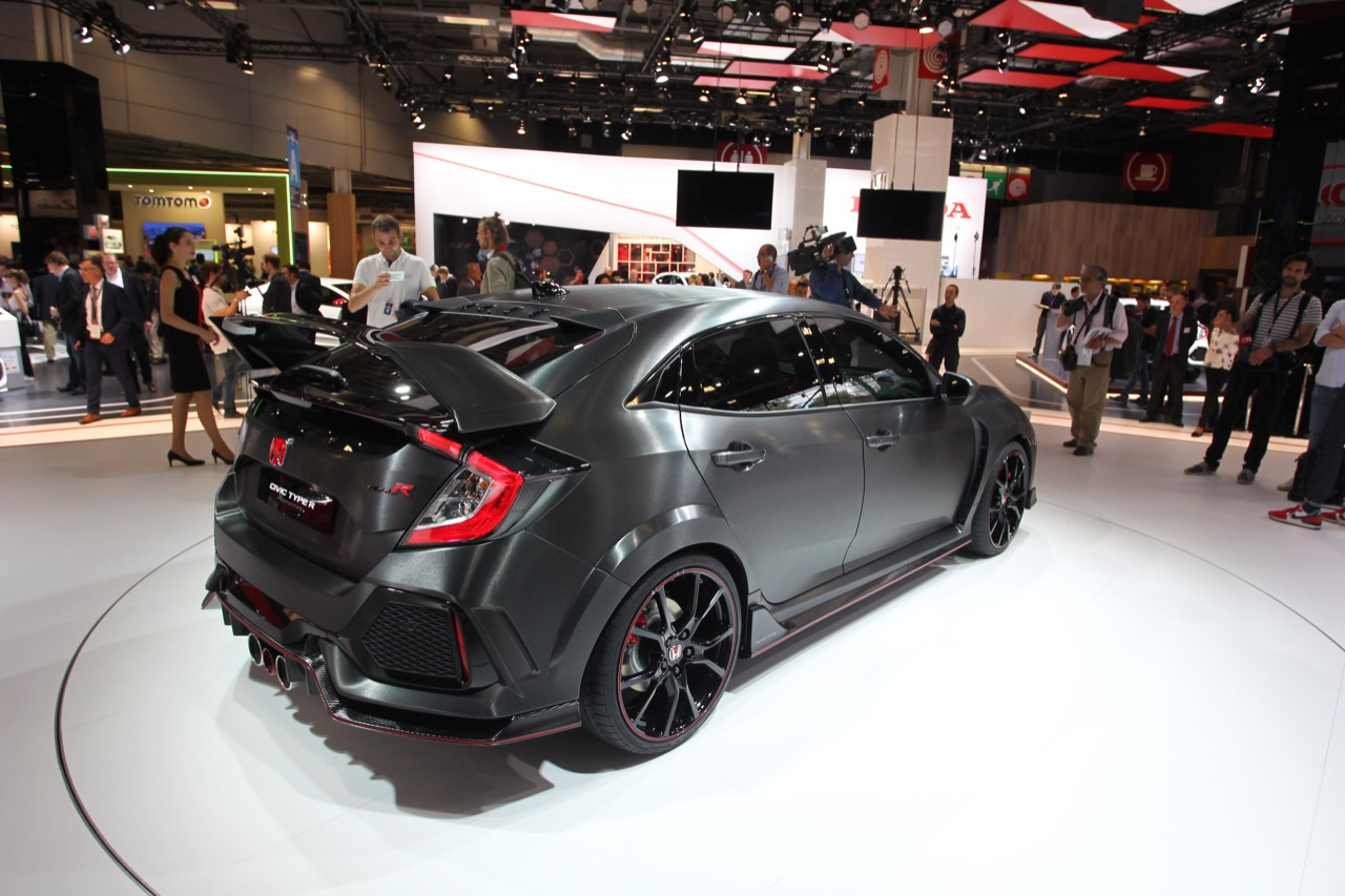 Honda Civic Type R Prototype - Salone di Parigi 2016