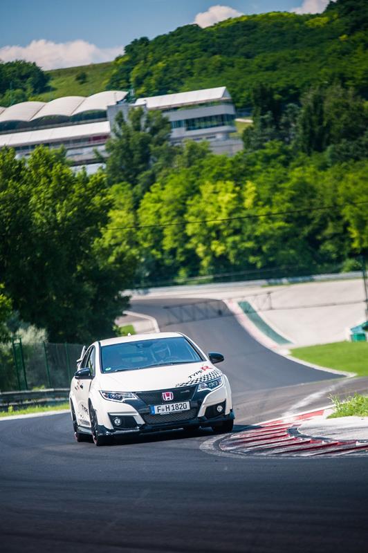 Honda Civic Type R - Record in pista