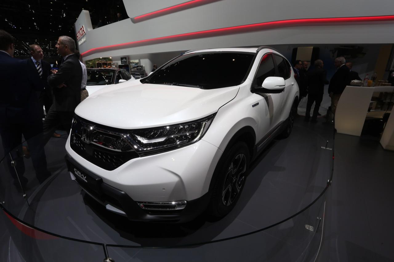 Honda CR-V Hybrid - Salone di Ginevra 2018