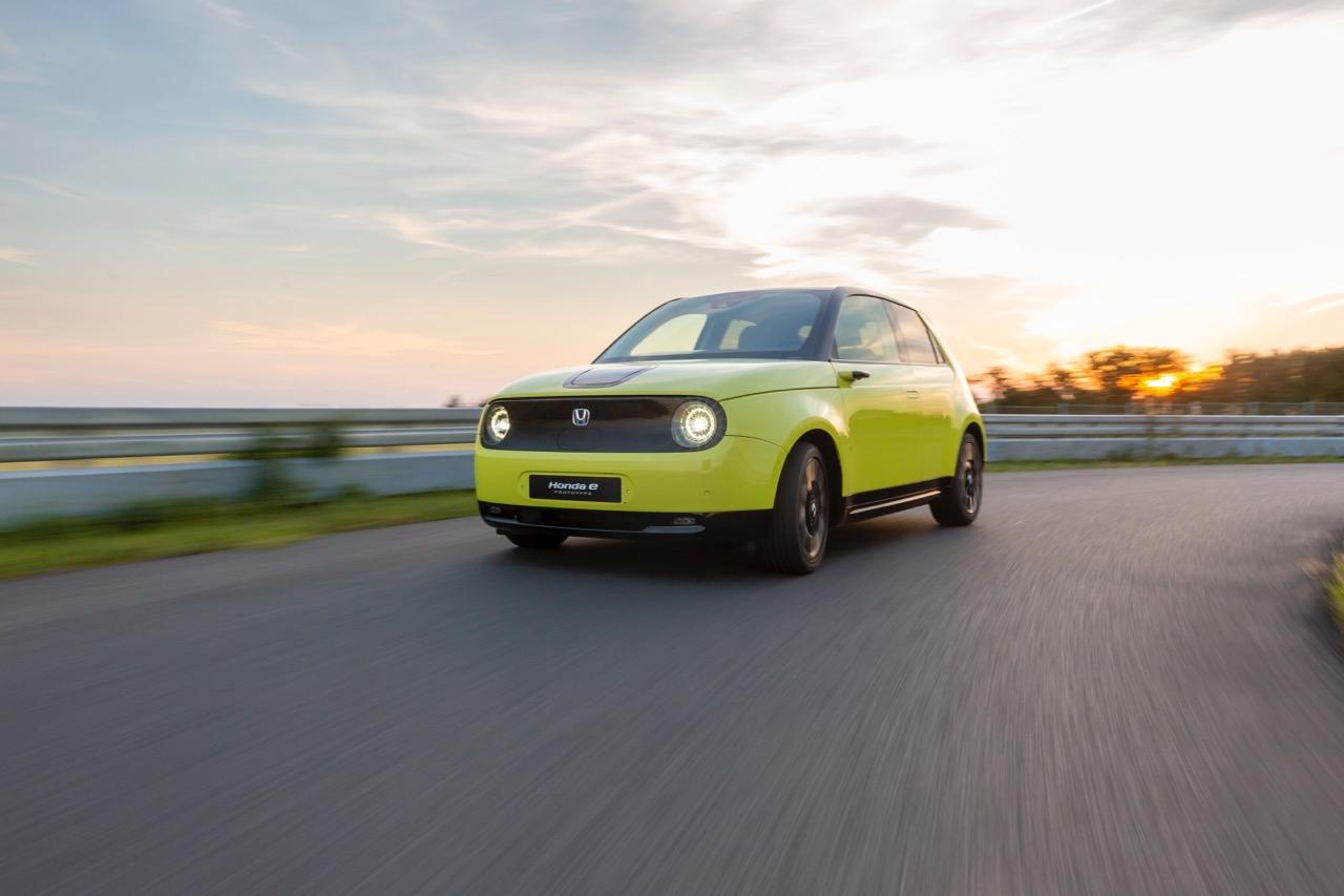 Honda e Prototype - Foto ufficiali luglio 2019