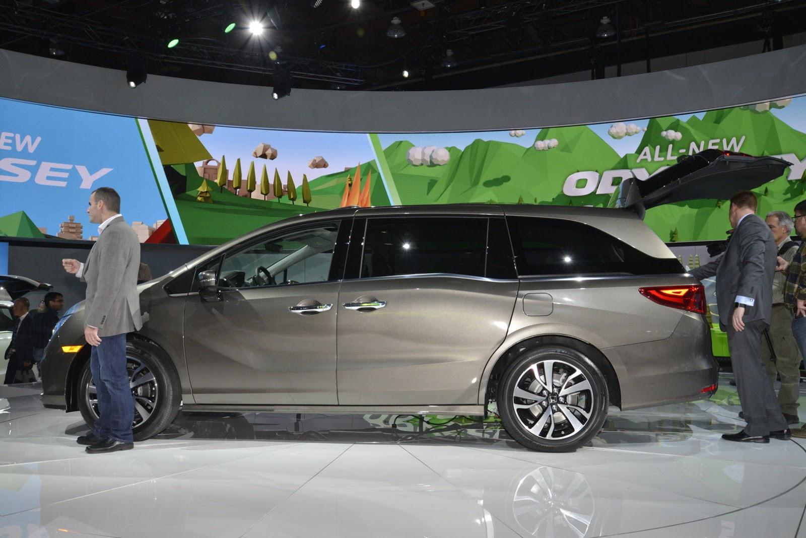 Honda Odyssey MY 2018 (Foto 12 di 67)