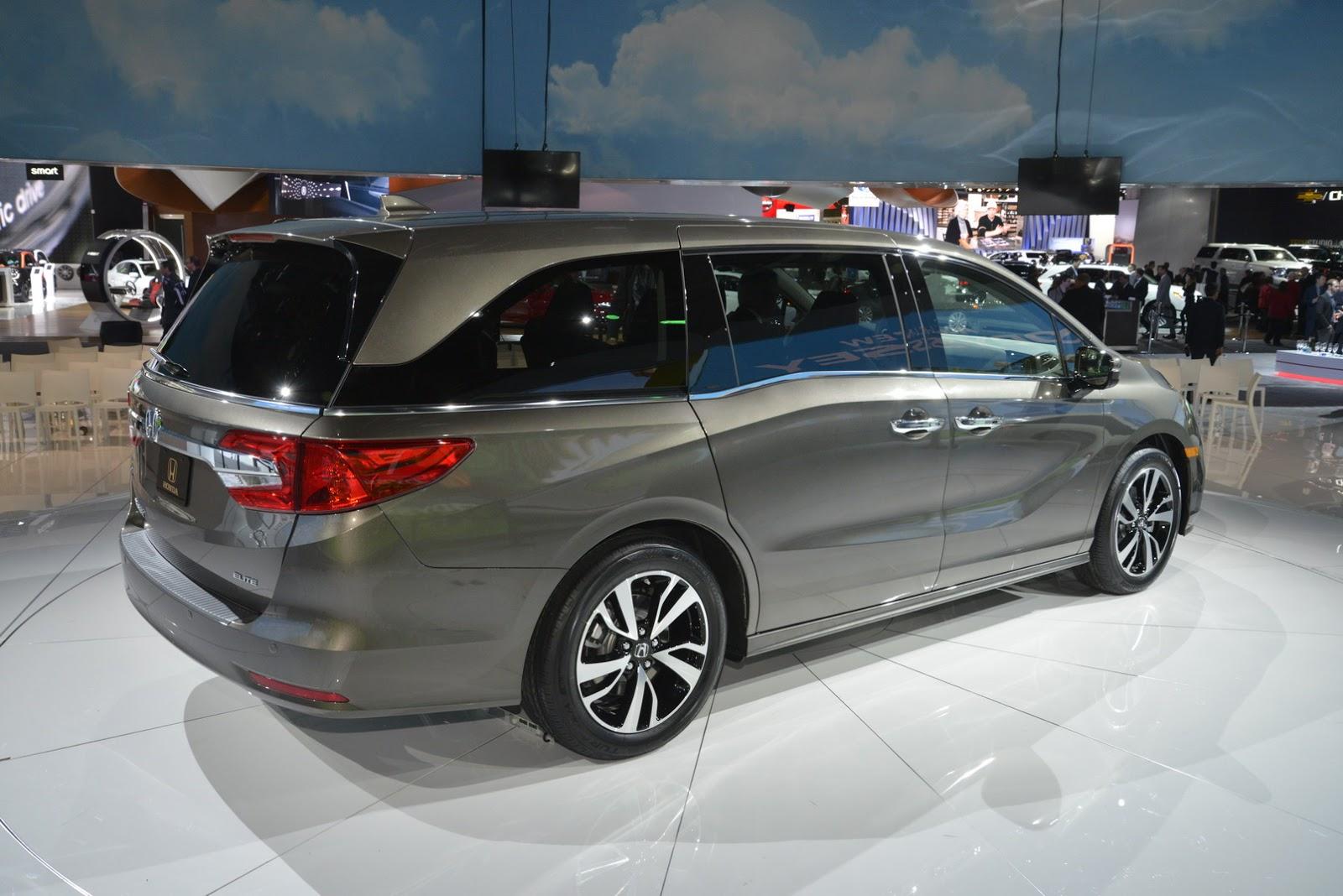 Honda Odyssey MY 2018 (Foto 8 di 67)