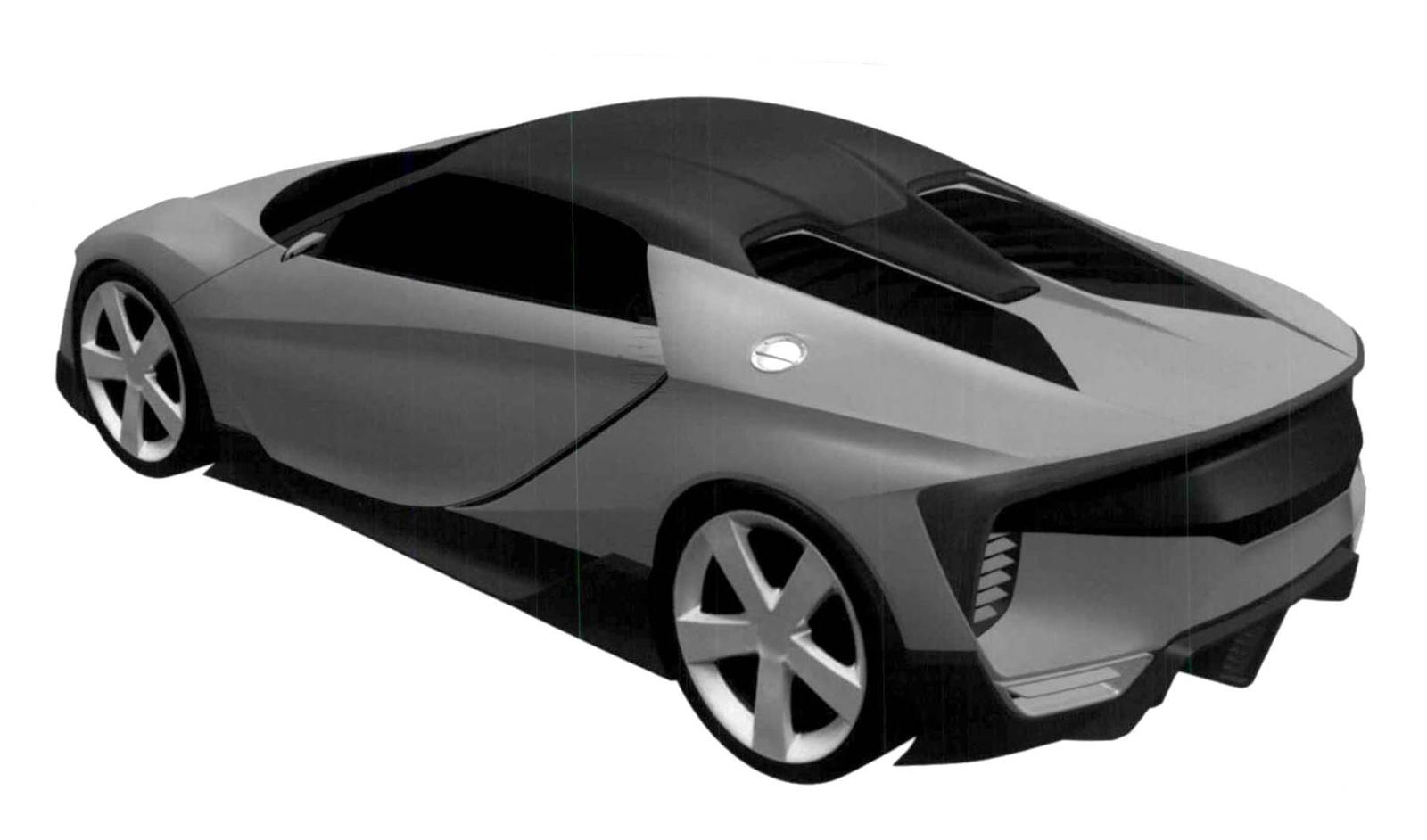 Honda ZSX brevetti