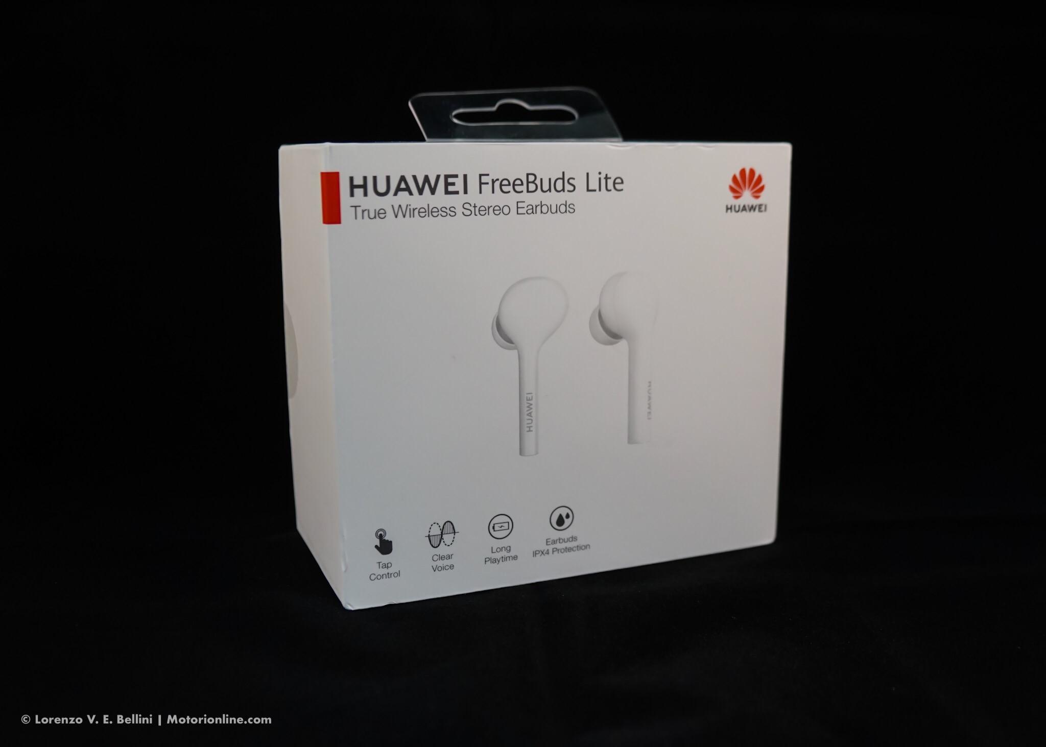 Huawei FreeBuds Lite - Recensione Auricolari Bluetooth