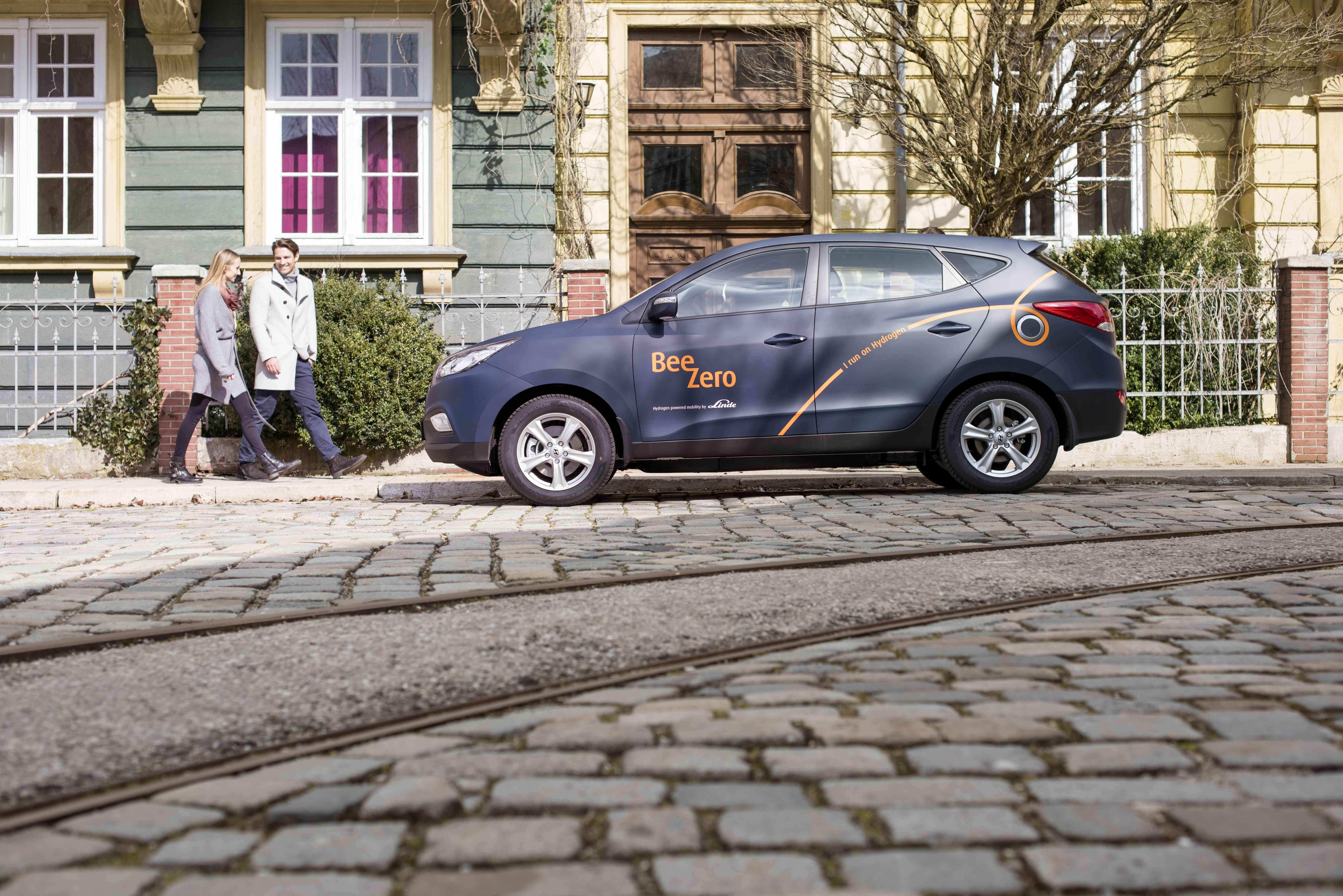 Hyundai - Car sharing BeeZero