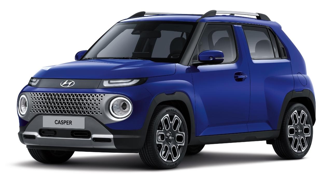 Hyundai Casper immagini ufficiali
