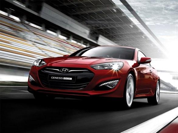 Hyundai Genesis Coupe restyling foto ufficiali