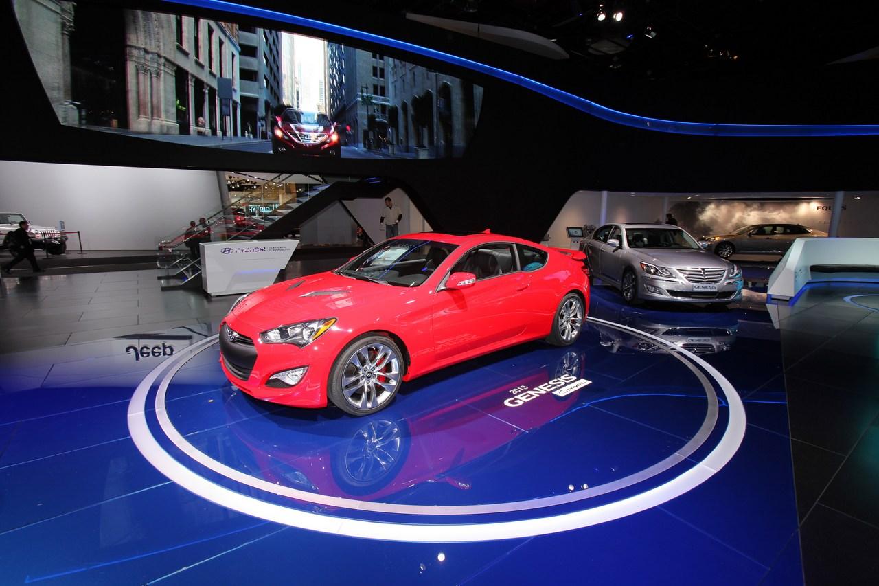 Hyundai Genesis Coupe - Salone di Detroit 2012