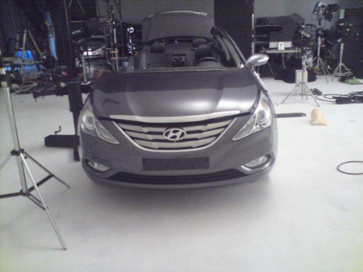 Hyundai i40: foto spia