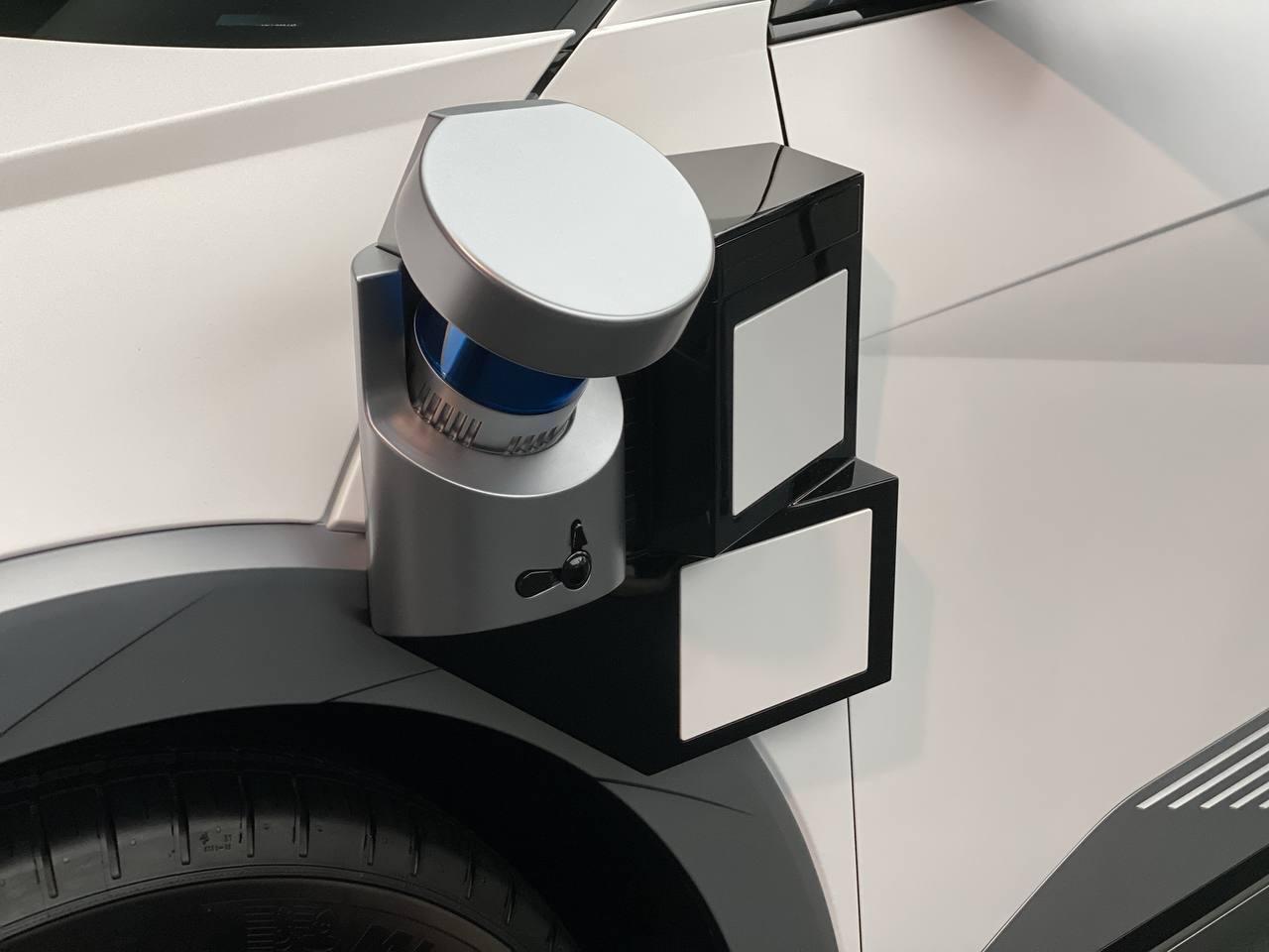 Hyundai Ioniq 5 Robotaxi - Salone di Monaco 2021