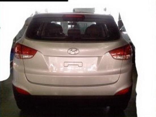 Hyundai iX35 - Foto spia