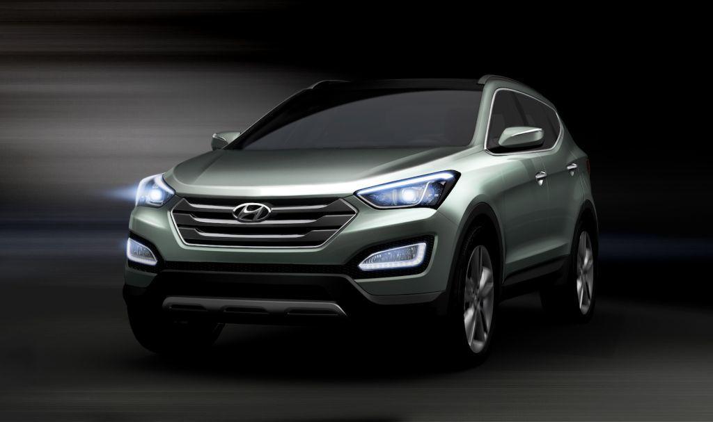 Hyundai ix45 prime immagini