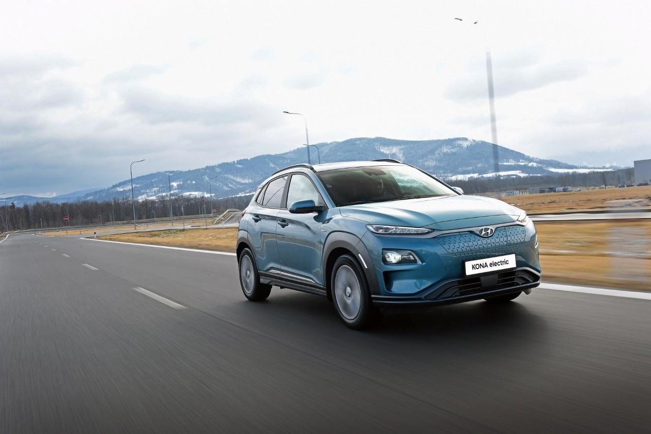 Hyundai Kona Electric 2020 - Foto ufficiali