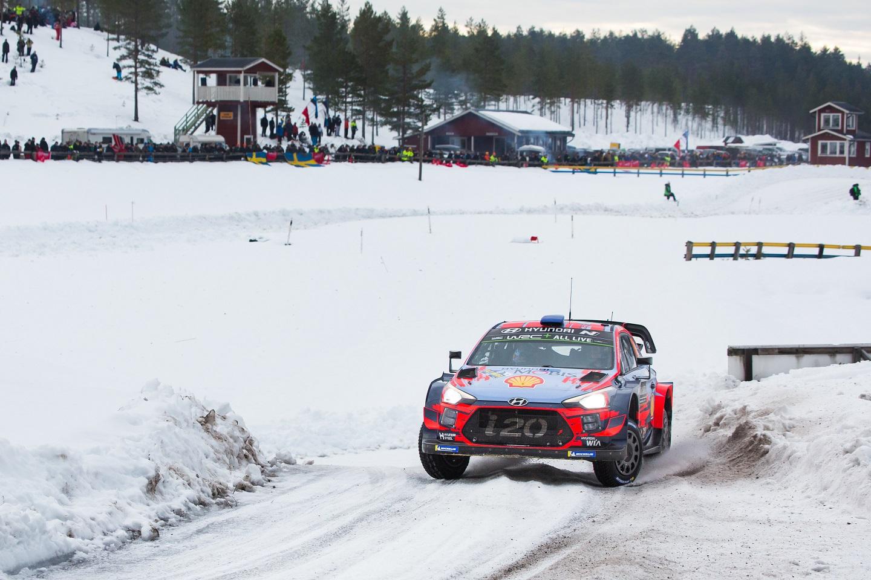 Hyundai - Rally di Svezia 2019