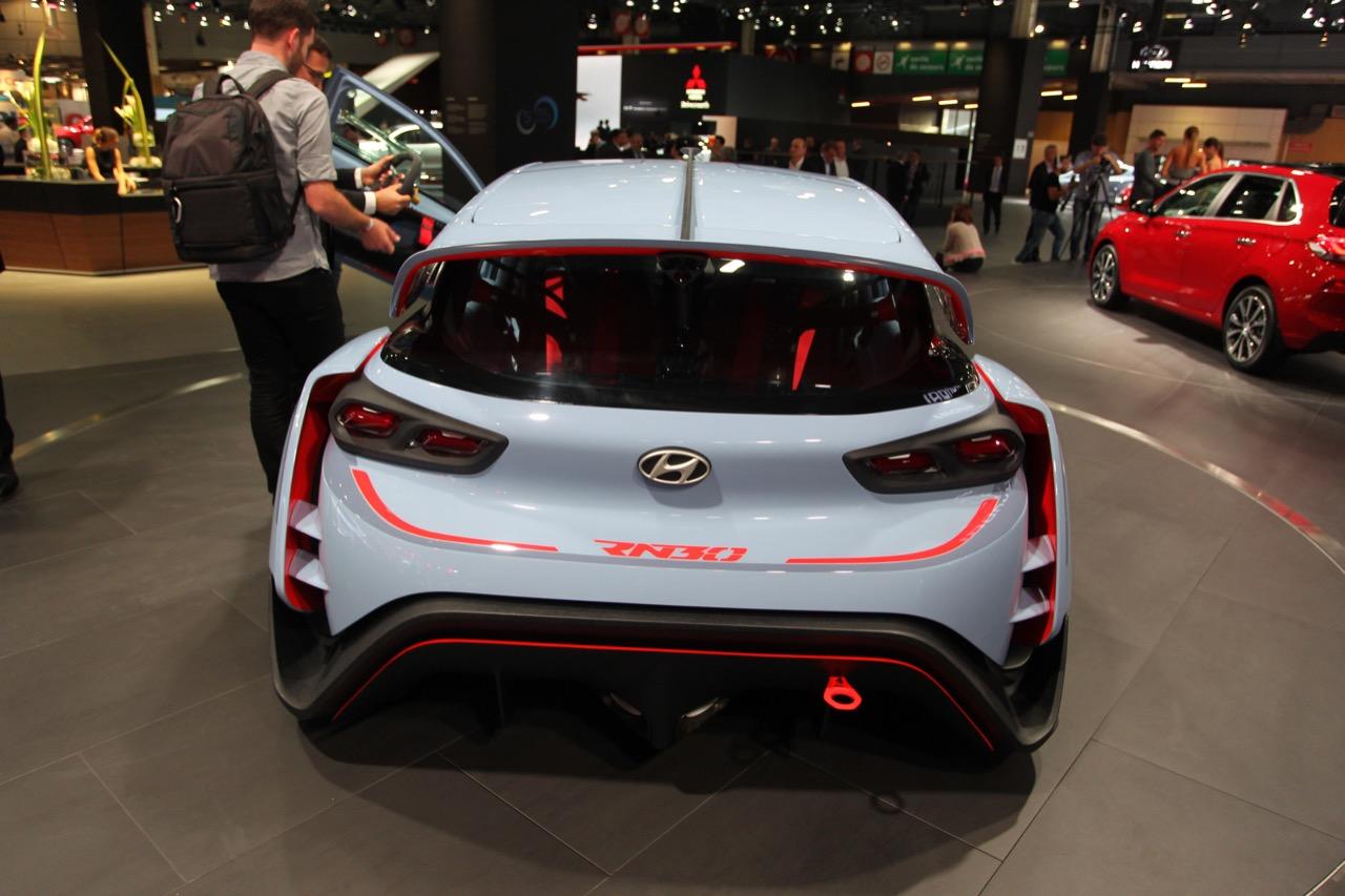 Hyundai RN30 N - Salone di Parigi 2016