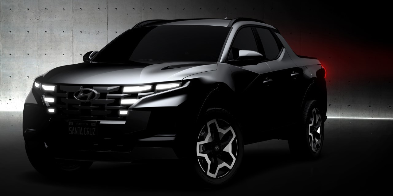 Hyundai Santa Cruz - Teaser 1-4-2021