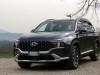 Hyundai Santa Fe Hybrid 2021 video prova su strada