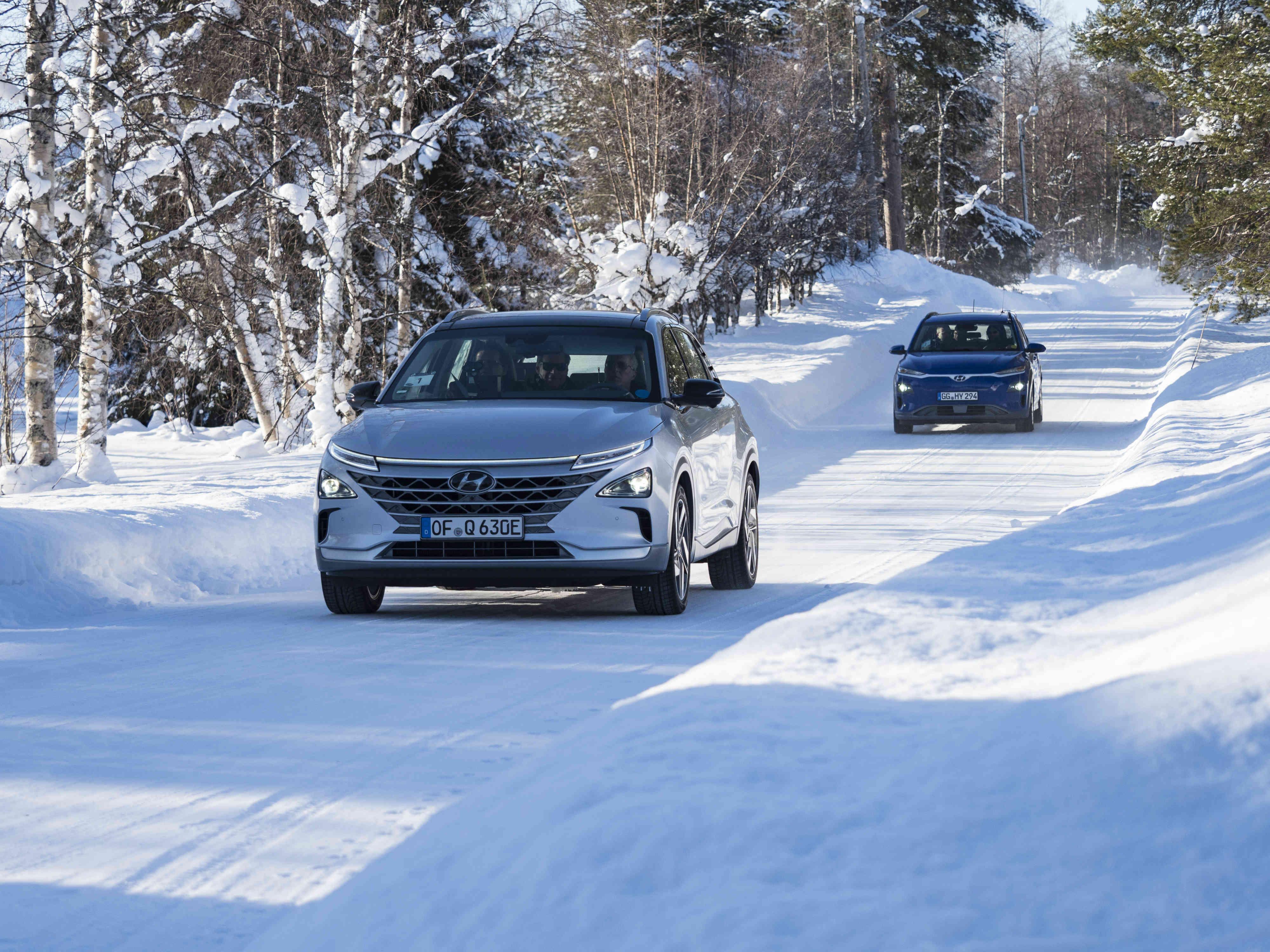 Hyundai Winter Test 2018