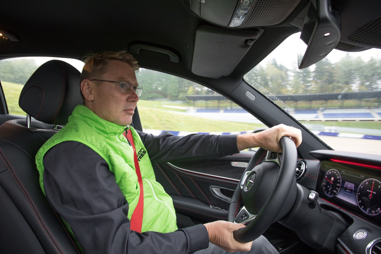 In pista al Red Bull Ring con Mika Häkkinen