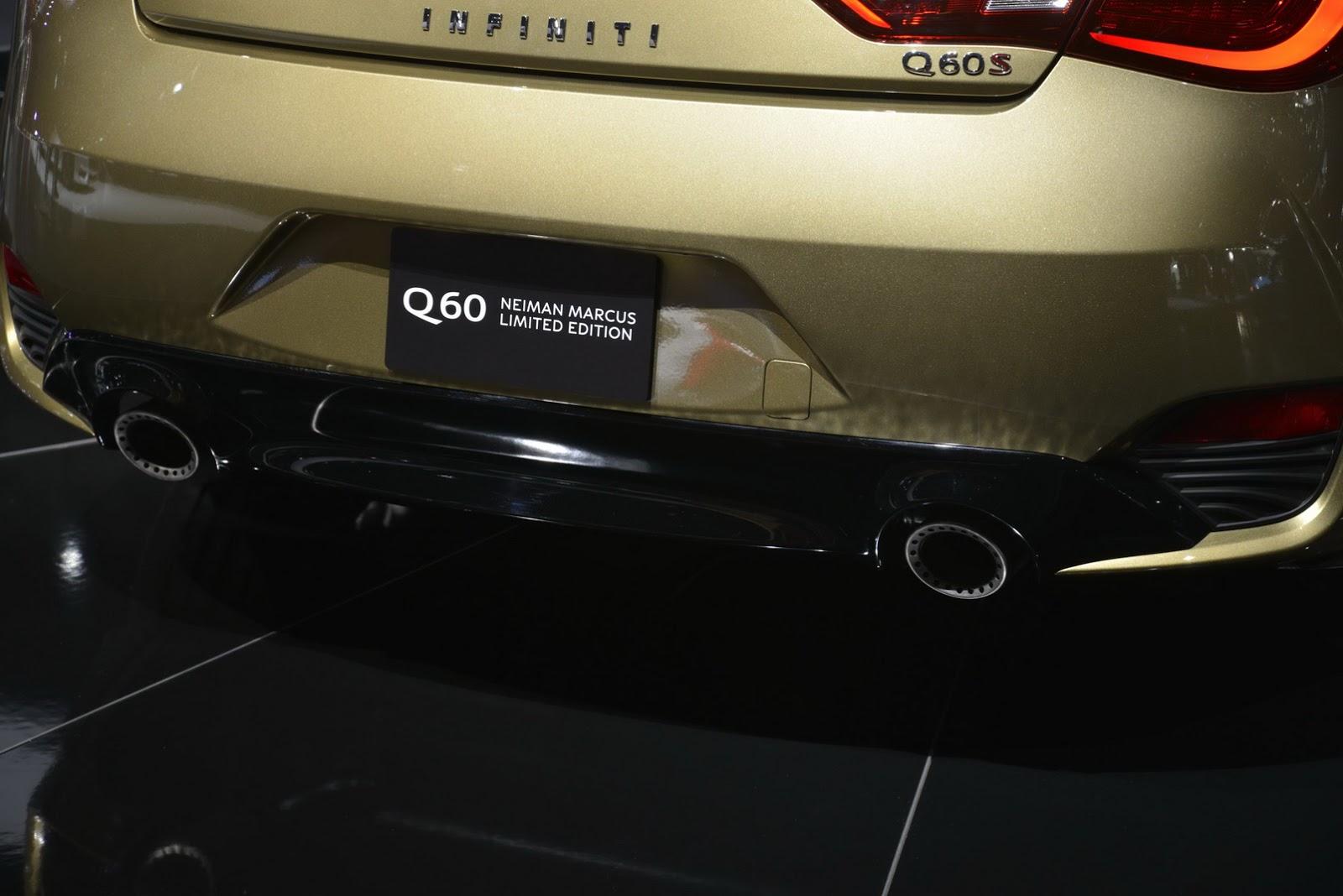Infiniti Q60 Neiman Marcus Edition Limited