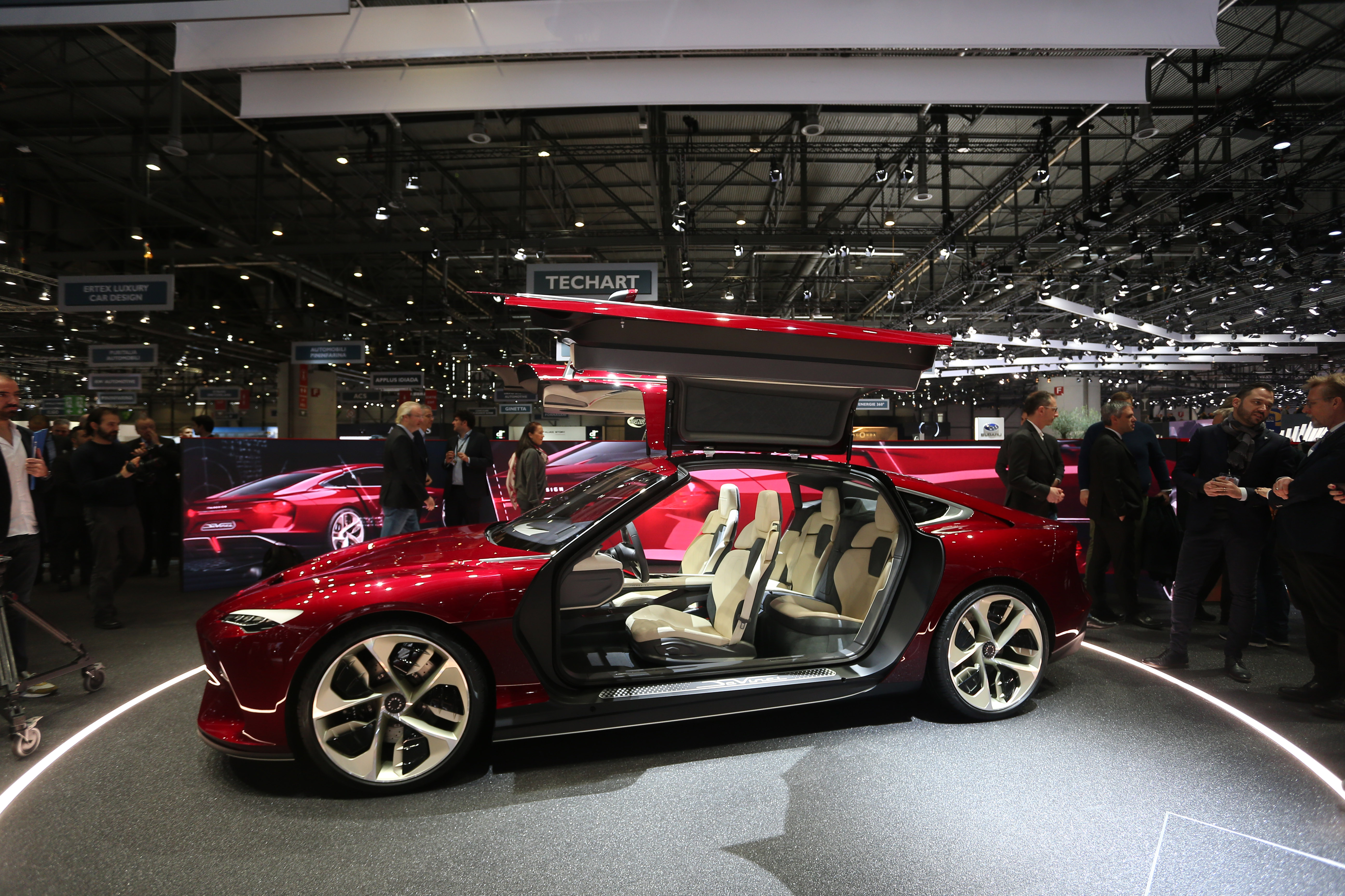 Italdesign DaVinci Concept - Salone di Ginevra 2019