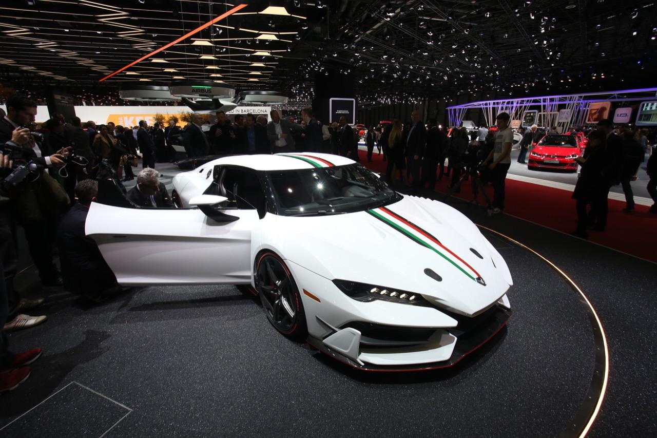 Italdesign Zerouno - Salone di Ginevra 2017