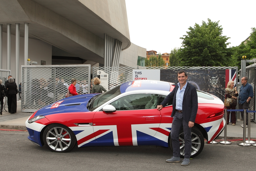 Jaguar F-Type Coupe Union Jack