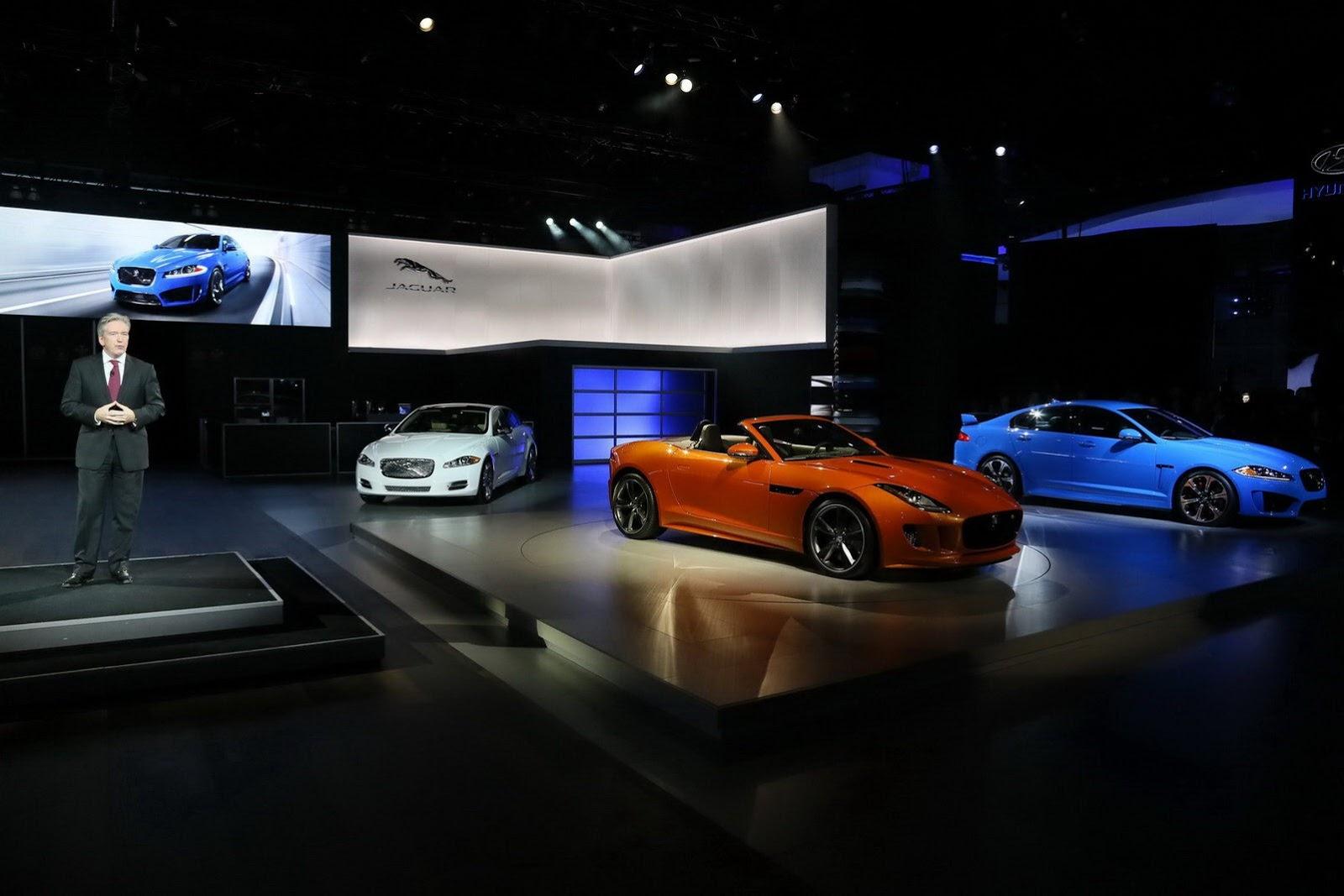 Jaguar F-Type - Salone di Los Angeles 2012
