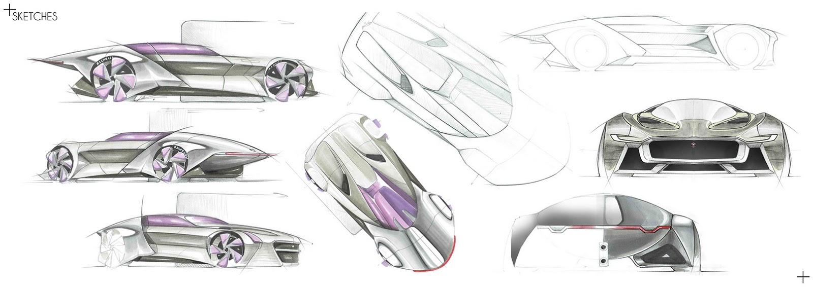 Jaguar - Hypercar James Bond - Rendering
