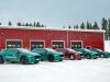 Jaguar I-Pace test invernali