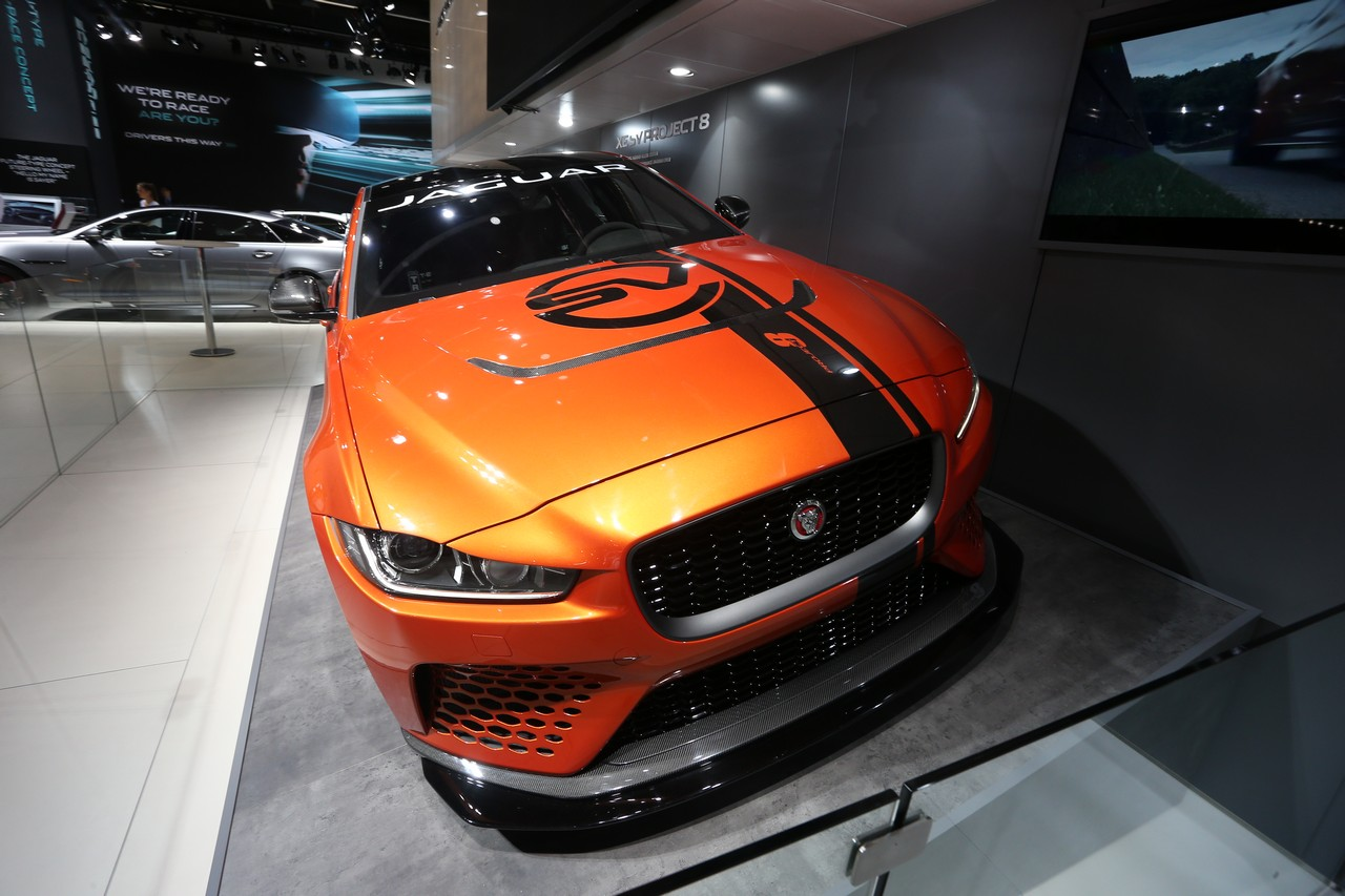 Jaguar Project8 - Salone di Francoforte 2017
