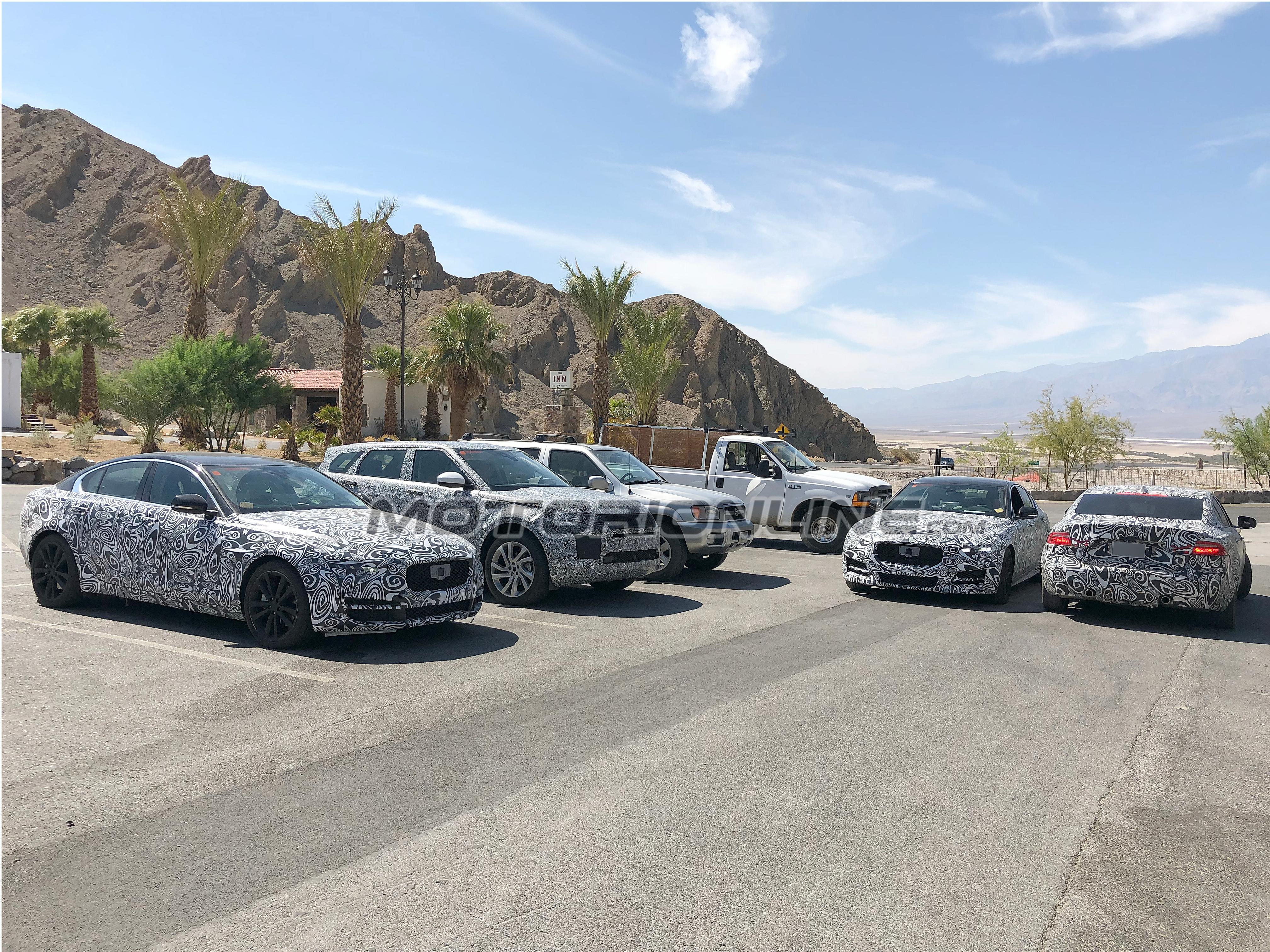 Jaguar XE foto spia 30 agosto 2018