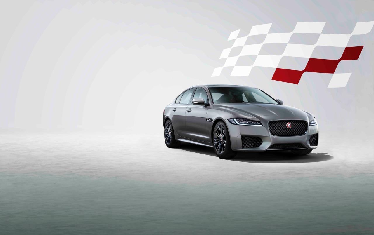 Jaguar XF Chequered Flag
