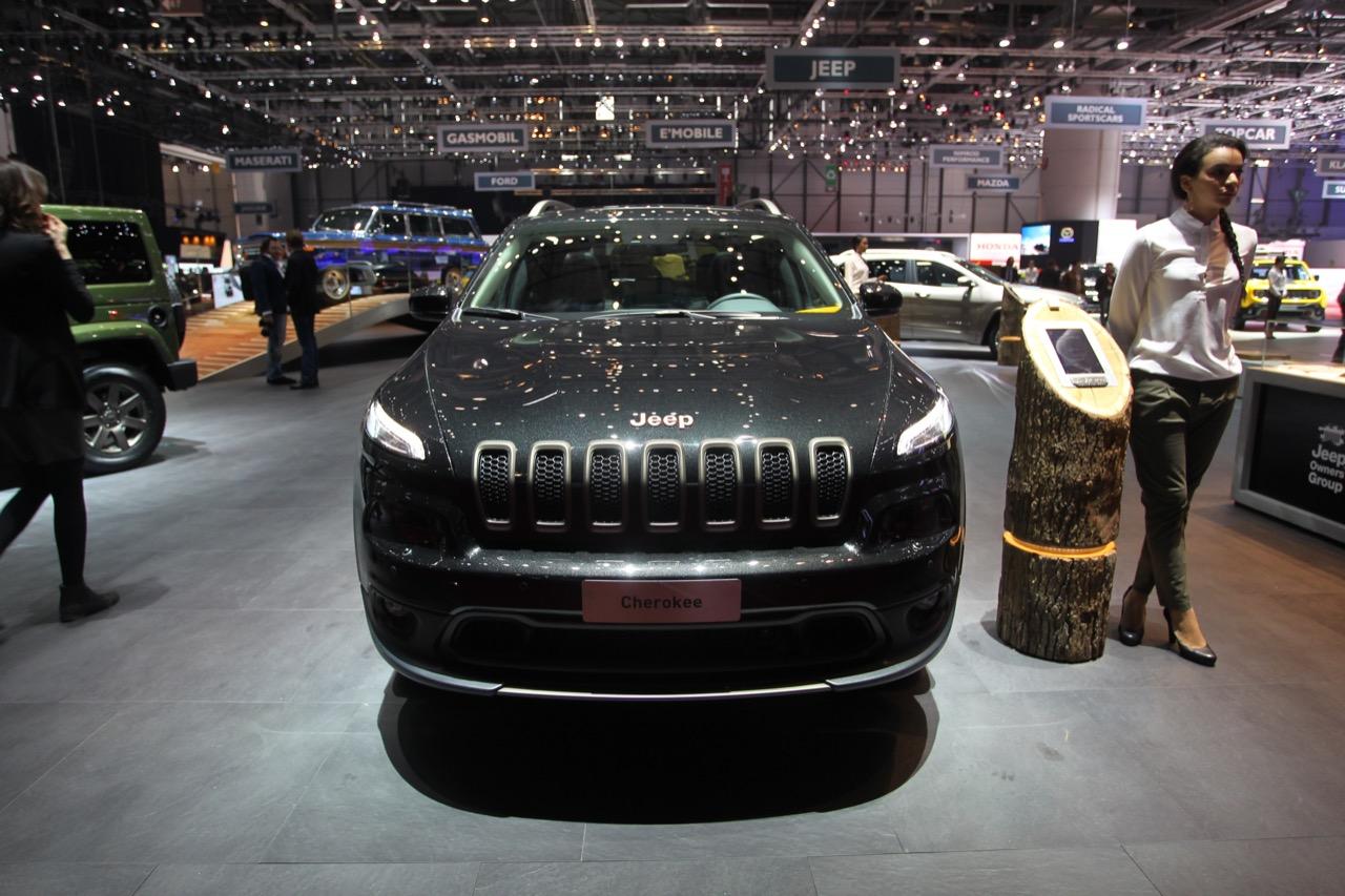 Jeep Cherokee 75th Anniversary - Salone di Ginevra 2016