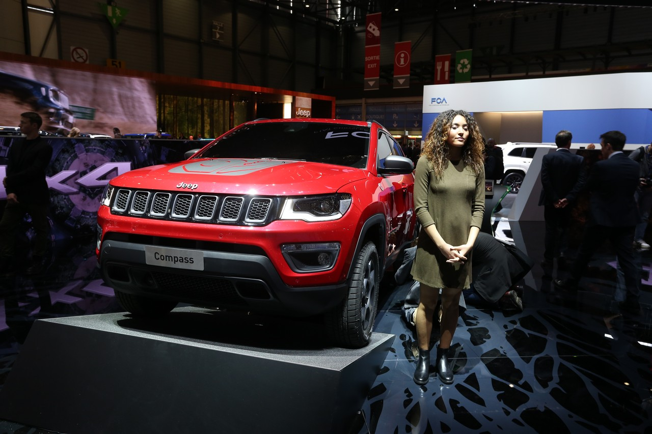 Jeep Compass PHEV e Jeep Renegade PHEV - Salone di Ginevra 2019