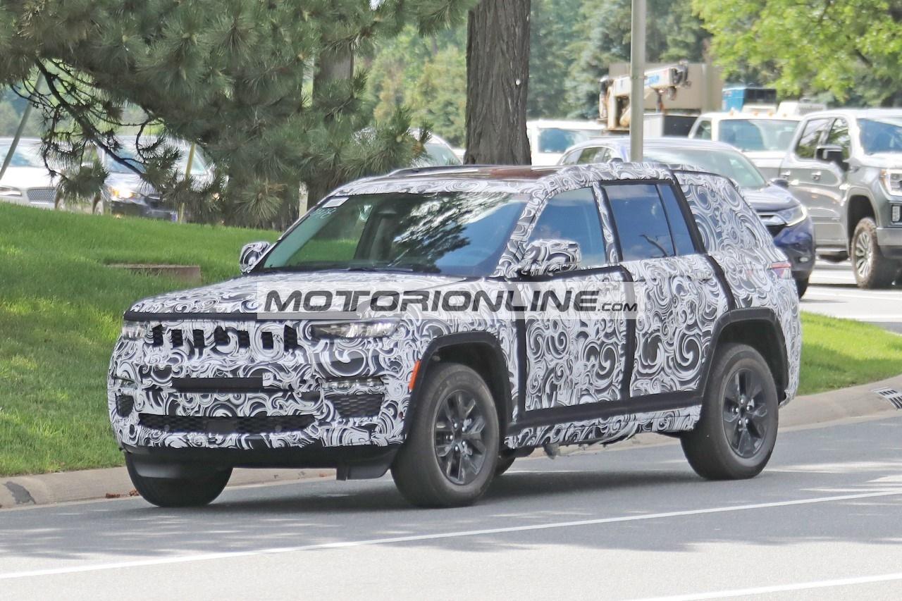 Jeep Grand Cherokee 4xe - Foto spia 18-6-2021